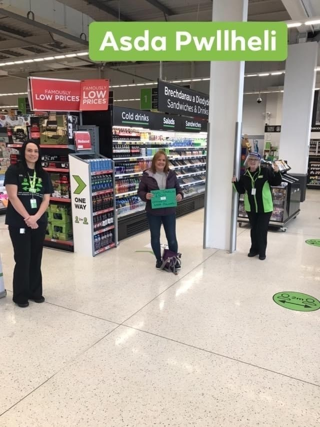 Green token winners  | Asda Pwllheli