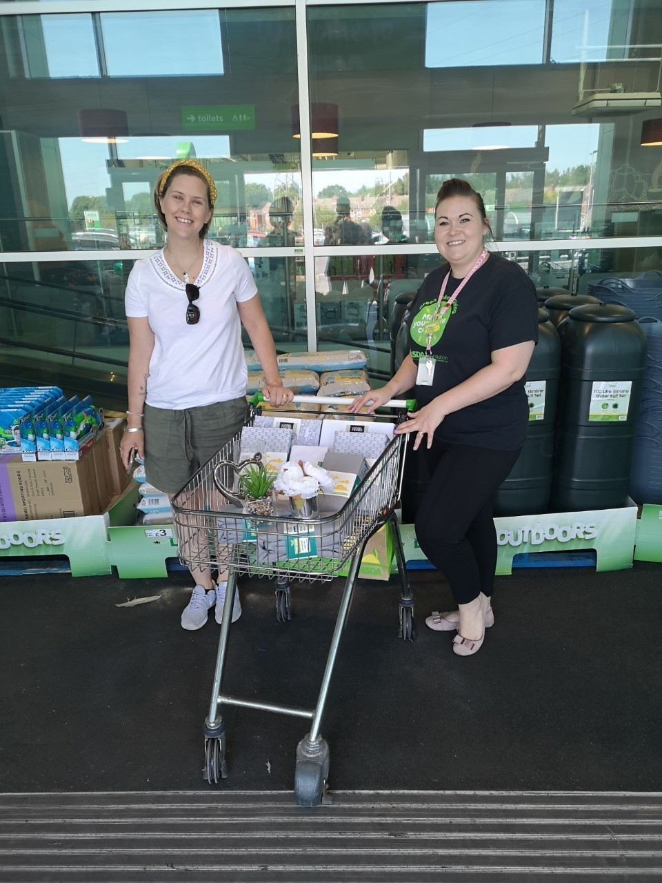 Donation for Birmingham Women's Hospital neonatal accommodation. | Asda Barnes Hill