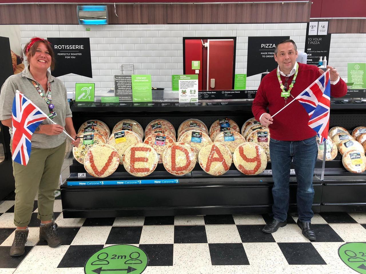 VE Day celebrations and remembrance in stor   Asda Swindon Haydon