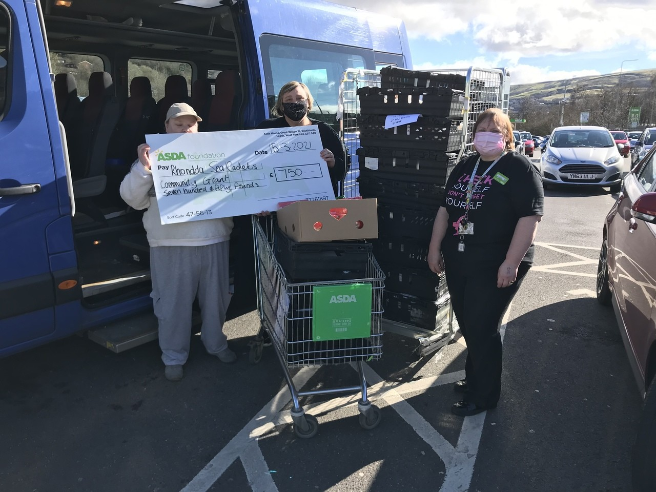 Supporting communities Grant   Asda Tonypandy