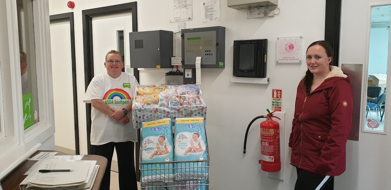 Southport Baby Bank | Asda Southport
