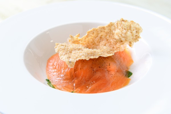 Burns Supper Scottish Salmon