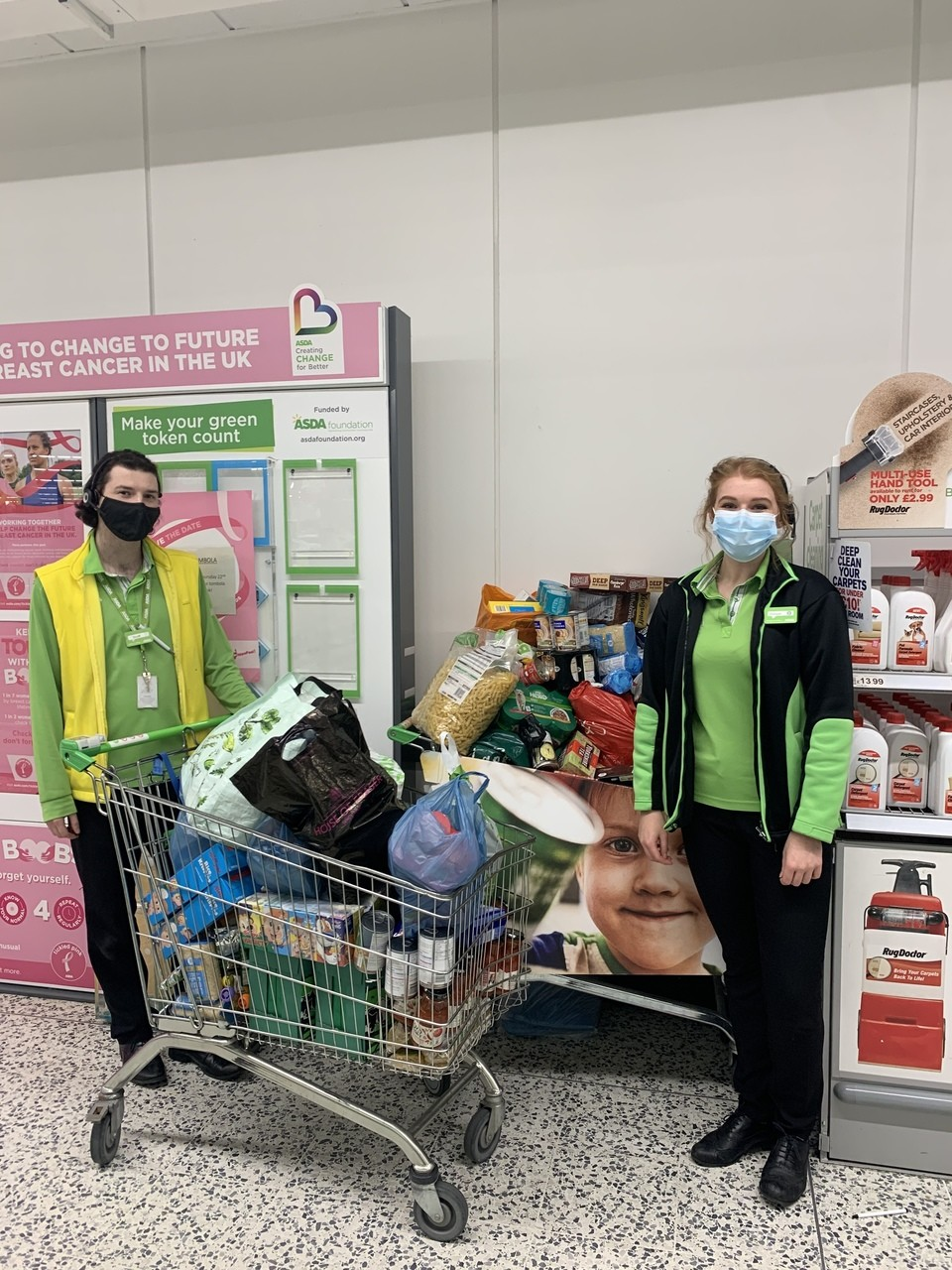 Food bank donations | Asda Newton Mearns