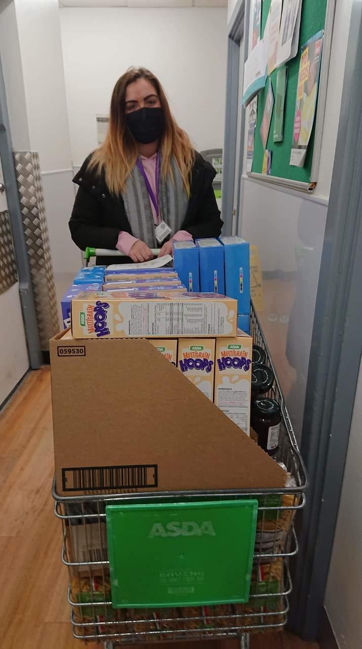 School donation | Asda Greenhithe