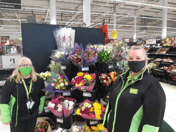 Arlene Nimmo from Asda Alloa saved the life of her colleague Cath McCaig when she had an allergic reaction