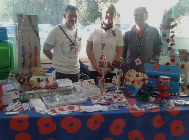 Poppy Appeal at Asda Rawtenstall
