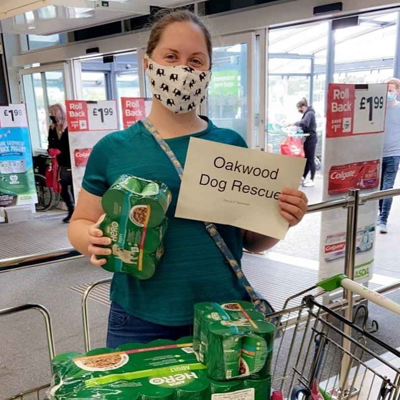 Oakwood Dog Rescue donation | Asda Hessle
