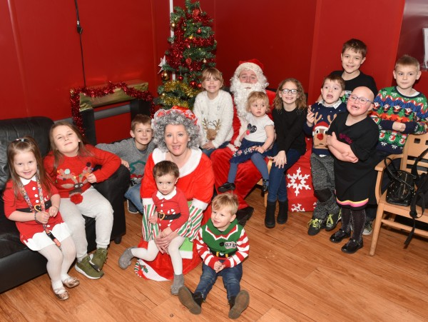 Emma Flavell from Asda Brierley Hill organised a Christmas party for children and parents