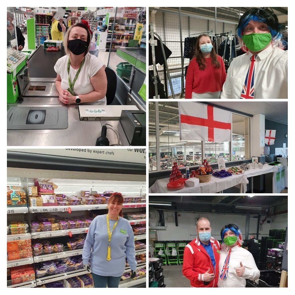 Happy St George's Day  | Asda Tunstall