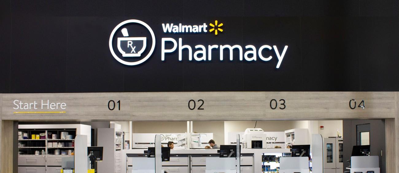 Walmart Pharmacy Front
