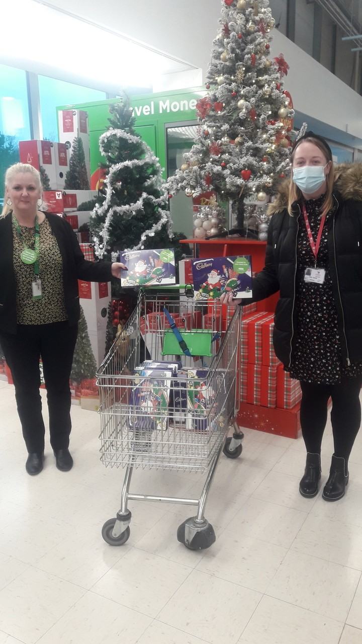 Inspire donation | Asda Wrexham