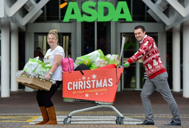 Asda donation to Leeds Homeless Partnership
