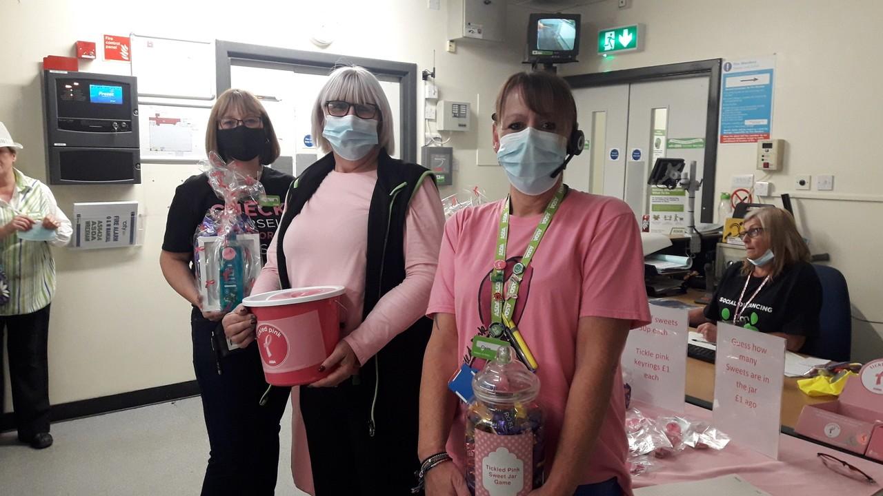 Tickled Pink fundraising | Asda Wrexham