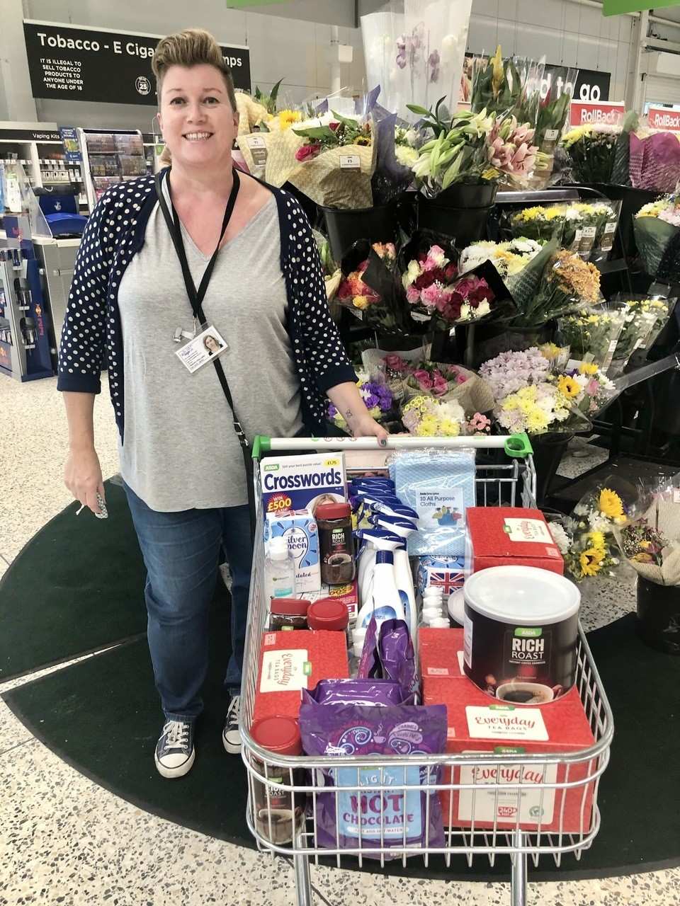 Another great donation to help our elderly | Asda Leicester Abbey Lane