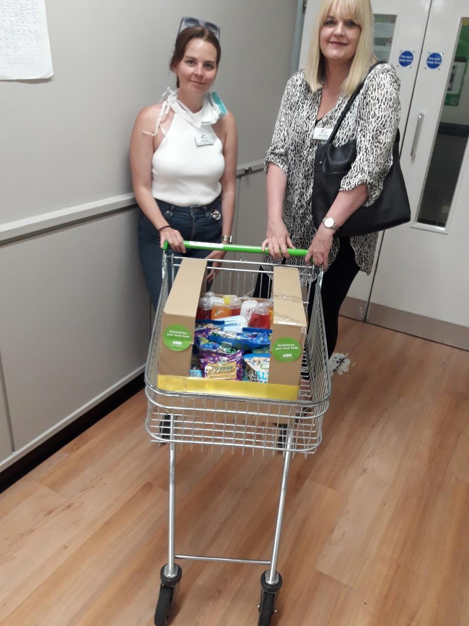 Care home donation | Asda Huddersfield