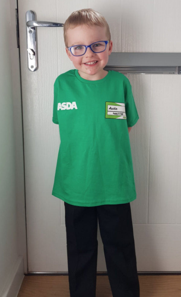 Austin Asda uniform