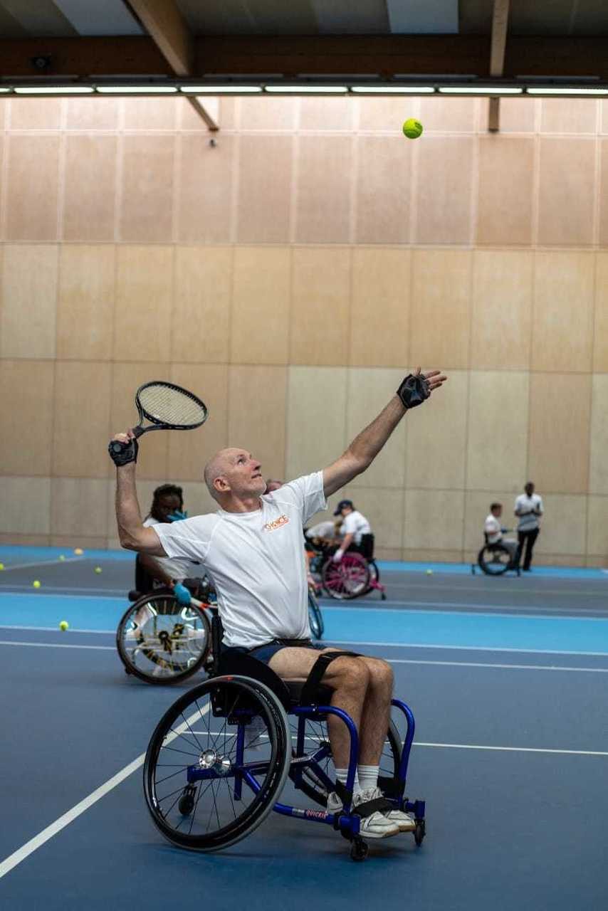 The Choice International back on tennis court :) | Asda Leyton Mills