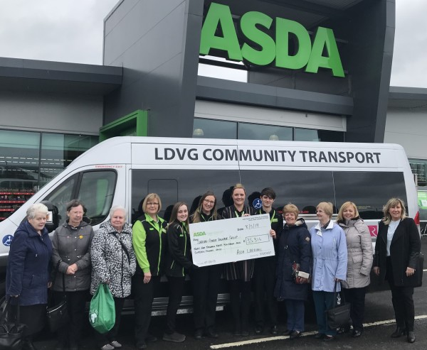 Asda Foundation donates £35,000 to Larkhall & District Volunteer Group