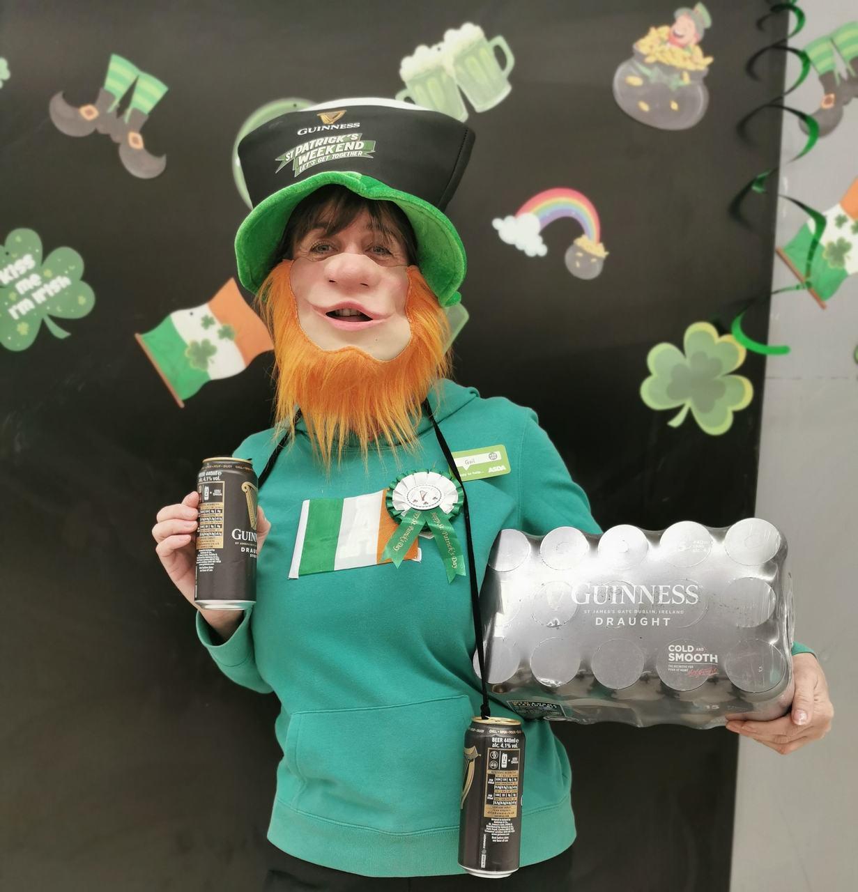 St. Patricks Day 🍀 | Asda Thornaby