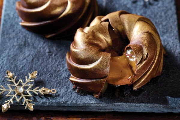 Extra Special Golden Vegan Swirls