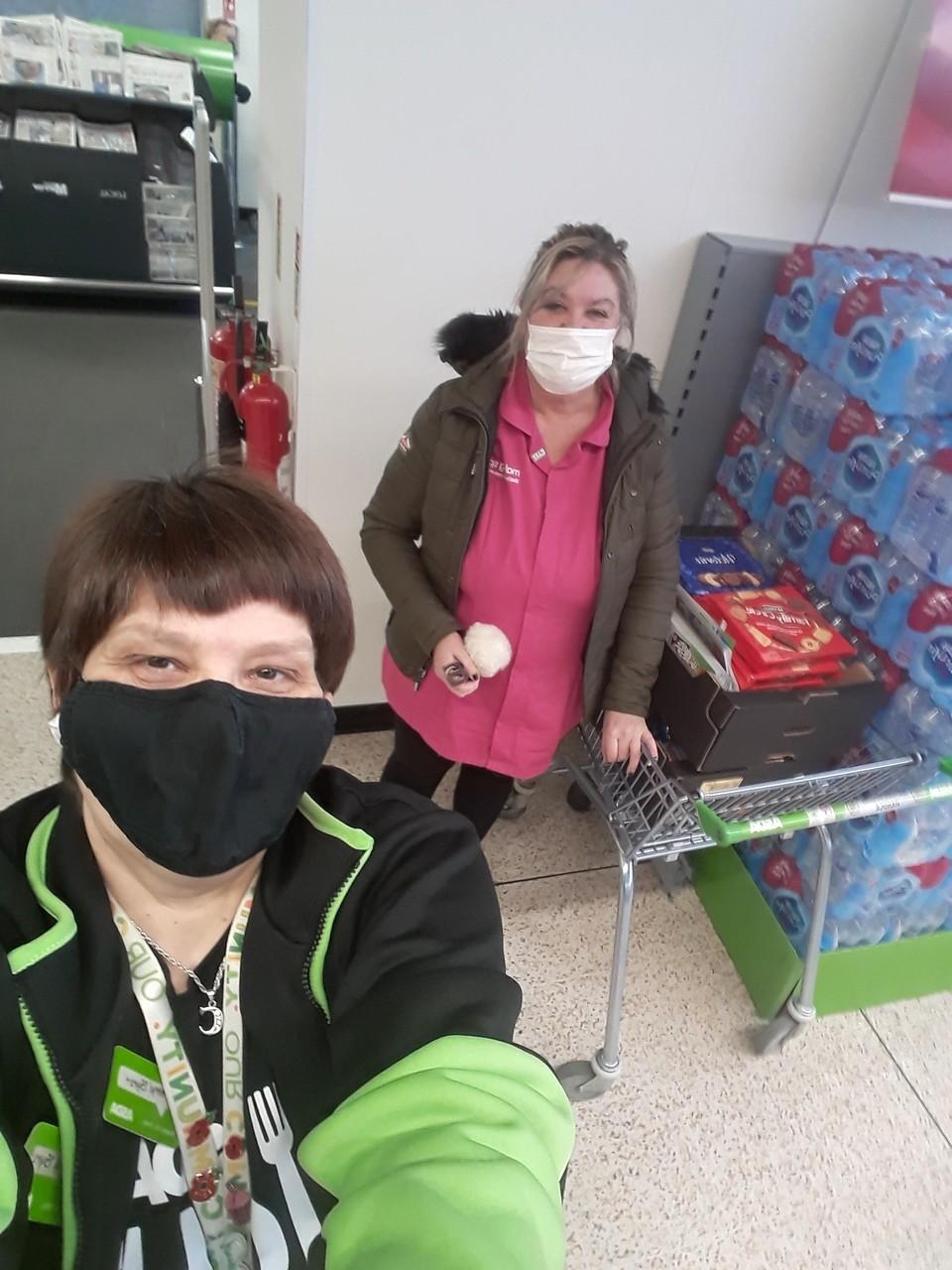 Donation to Ashwood Court care home | Asda Golborne