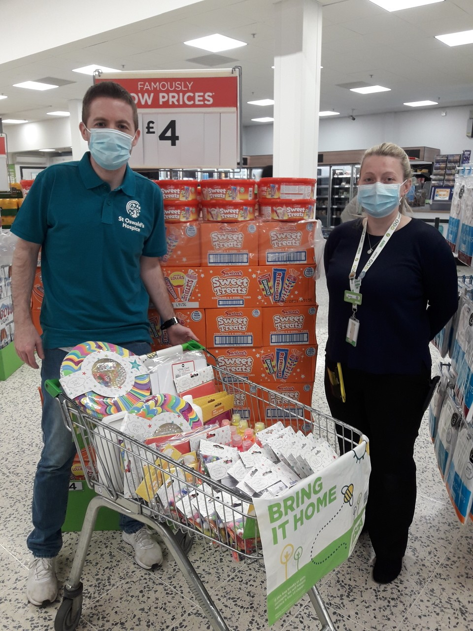 Supporting St Oswald's Hospice  | Asda Gosforth