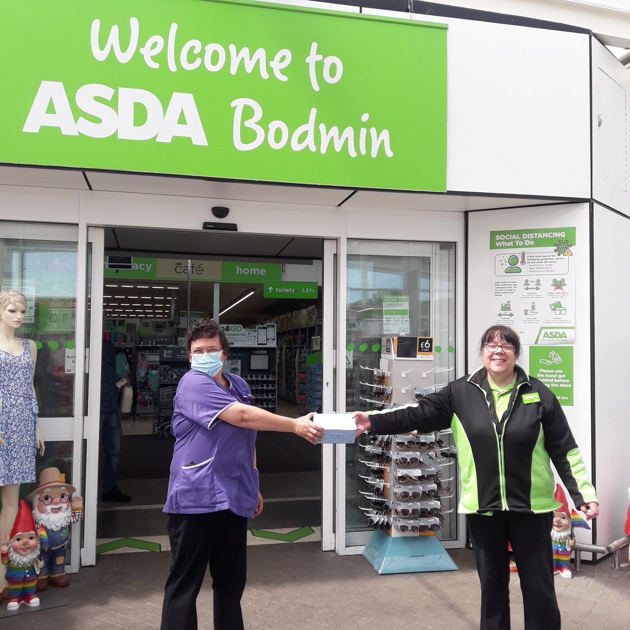 Facemasks | Asda Bodmin