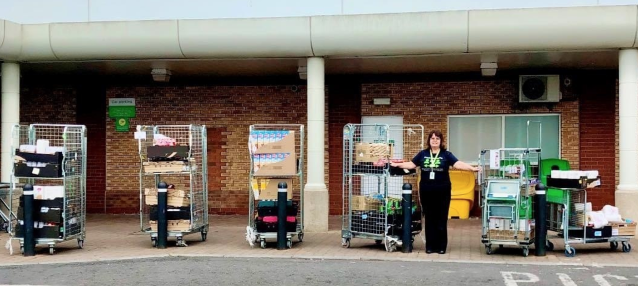 Shopping for foodbank | Asda Downpatrick