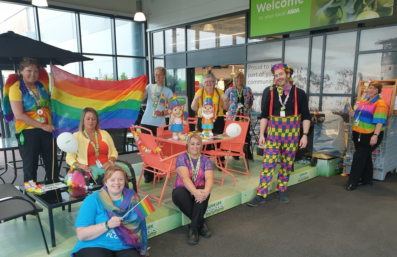 Rainbow day  | Asda Newport Isle of Wight