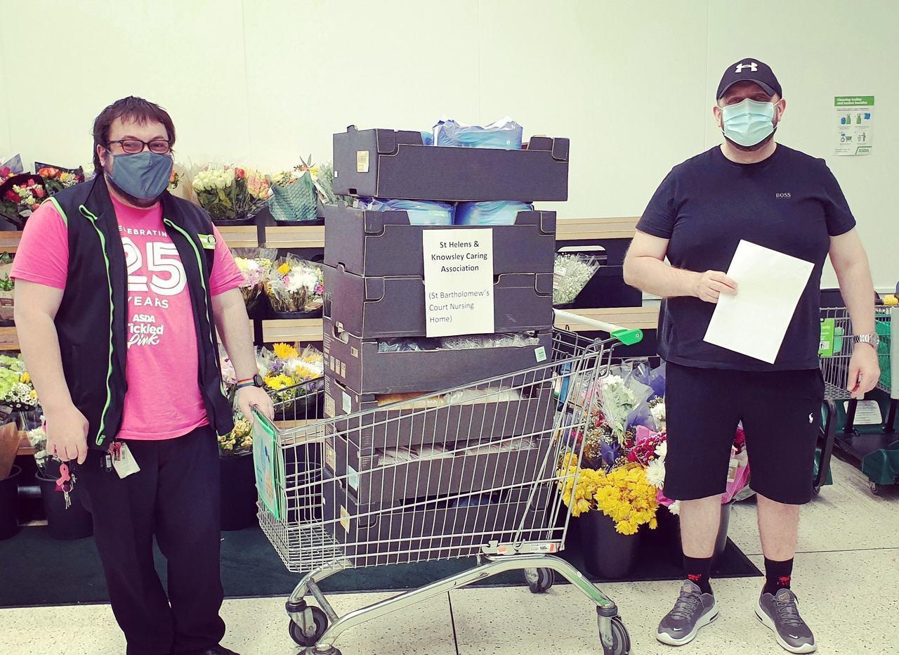 Donation to Nursing Home | Asda Huyton