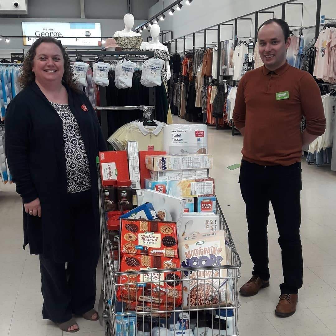 Wrexham Salvation Army donation | Asda Wrexham
