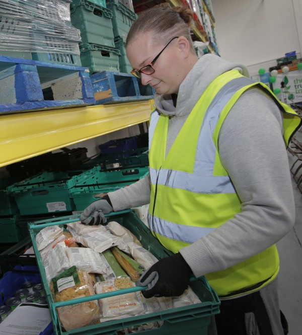Leeds FareShare volunteer Steph