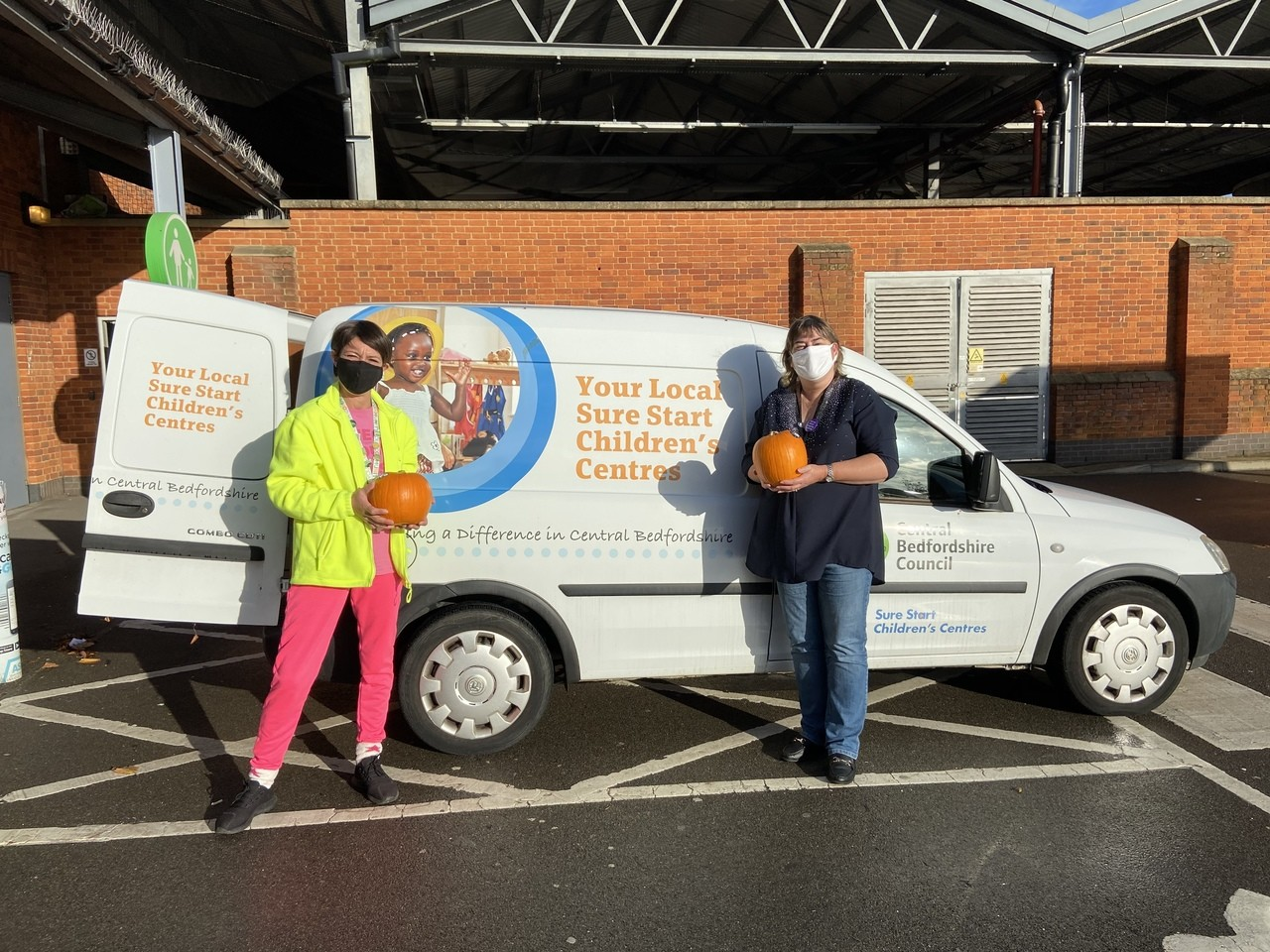 Pumpkin donation  | Asda Biggleswade