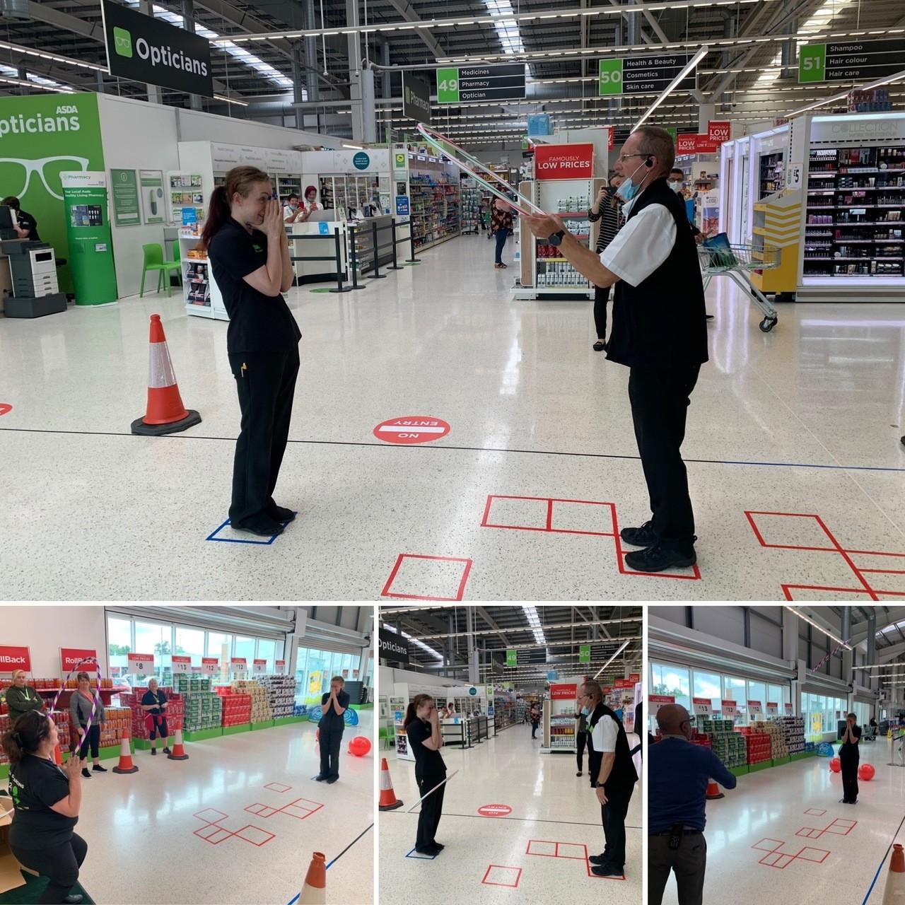Asda Wigan hosts sports day | Asda Wigan