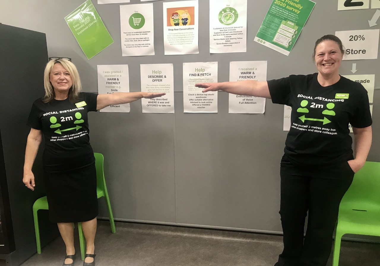 Two Metre Rule t-shirts in store | Asda Frome