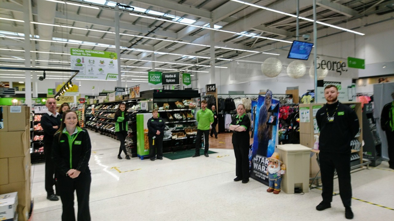 Observing a minute's silence  | Asda Filton