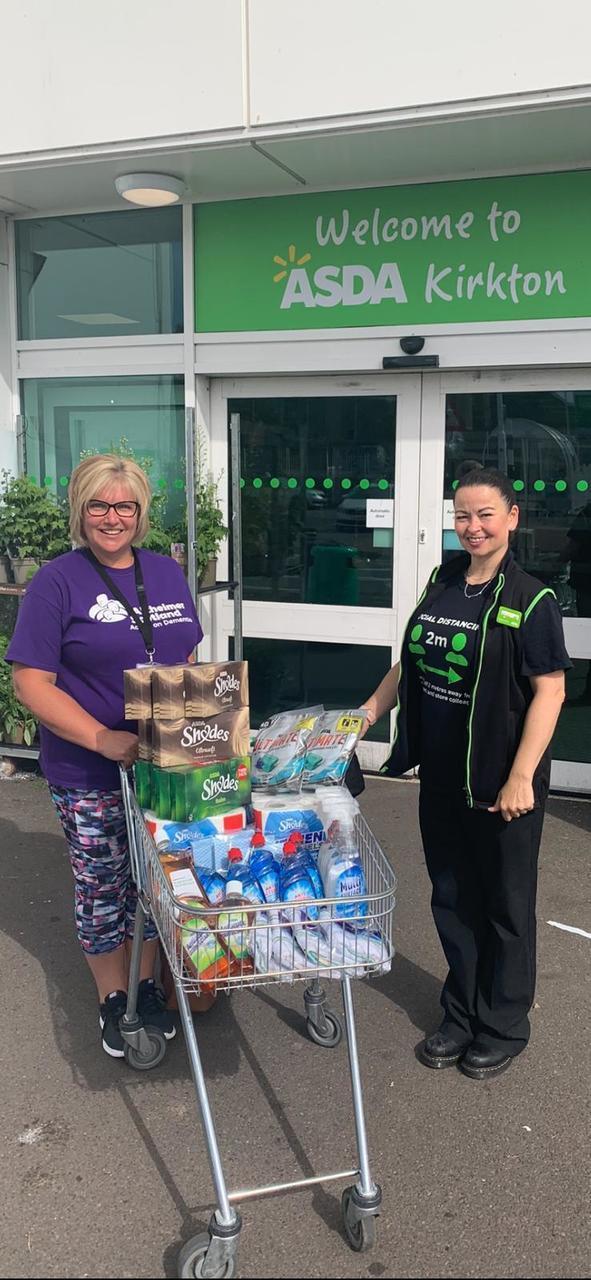 Alzheimers Scotland gift | Asda Dundee Kirkton