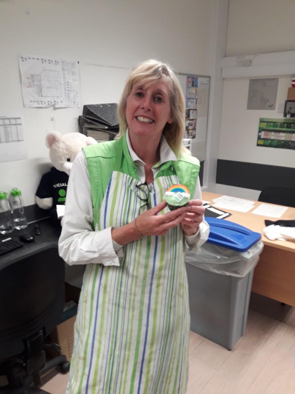 Lovely cake donation | Asda Sedgley