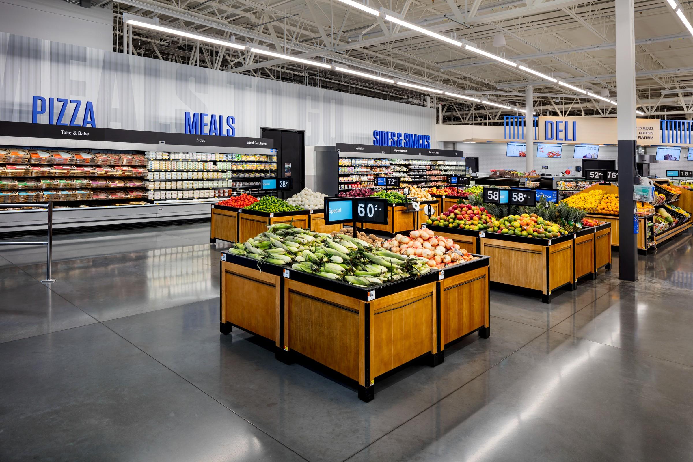 Walmart store update 2020 - produce