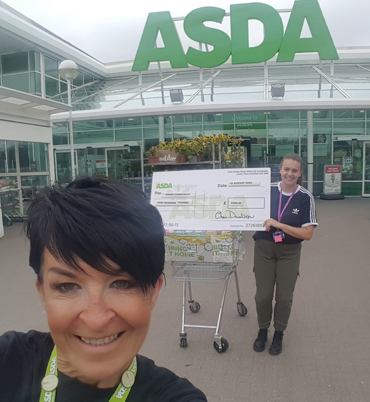 Asda Foundation grant for The Simon Centre homeless charity | Asda Toryglen