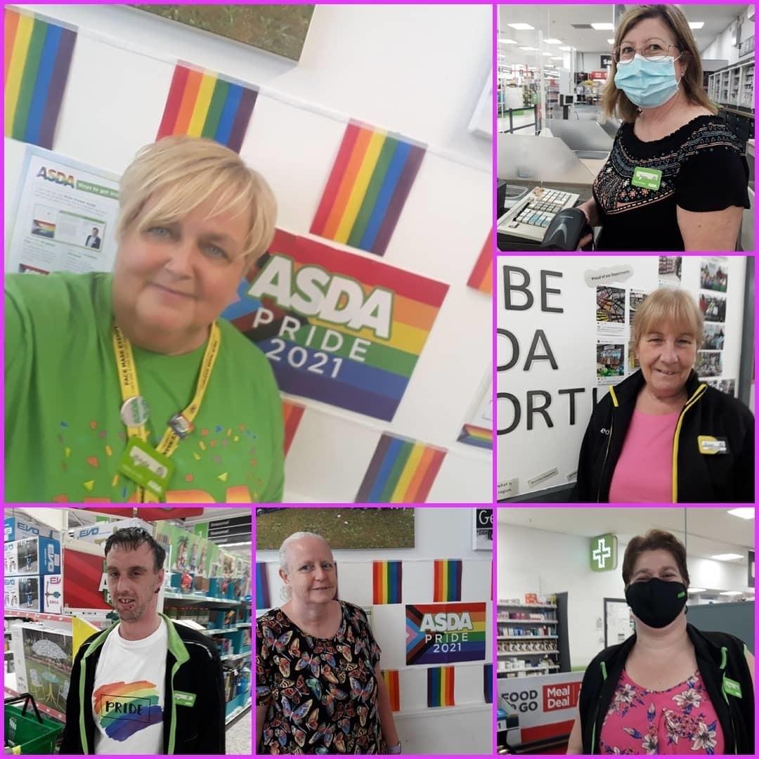 Celebrating Pride 2021 | Asda Gosforth