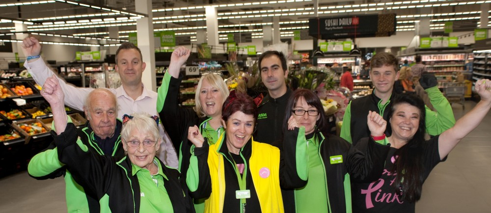 Asda Patchway colleagues