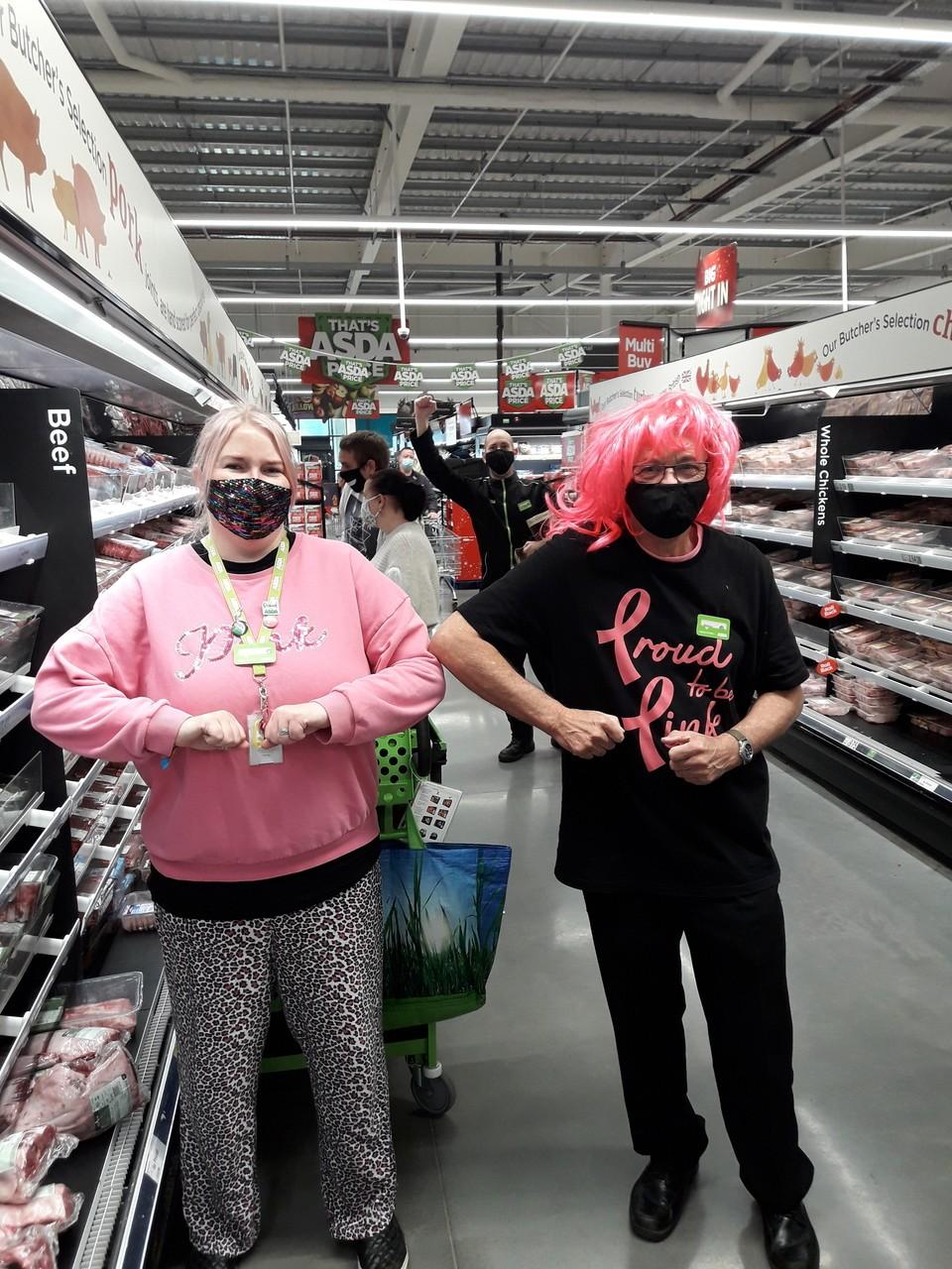 Tickled Pink at Asda Barnstaple | Asda Barnstaple