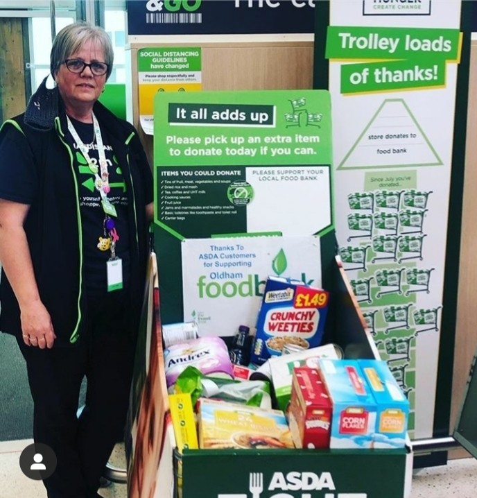 Fight Hunger Create Change campaign | Asda Shaw
