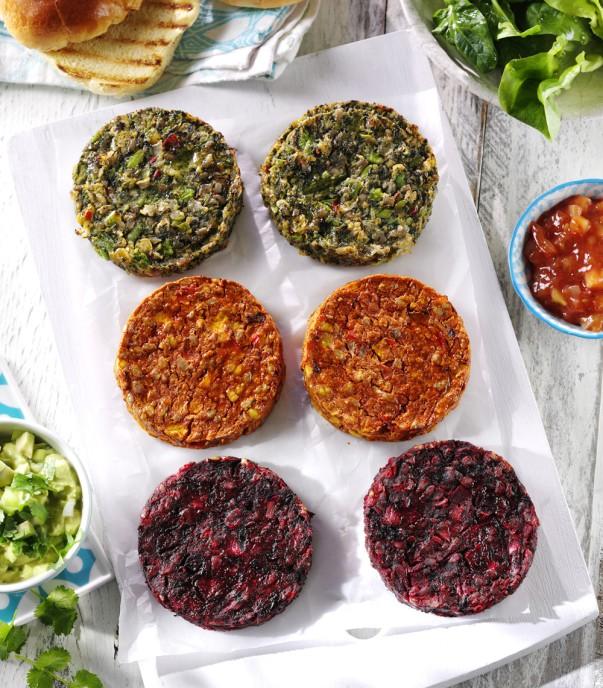 Asda's new vegan burgers