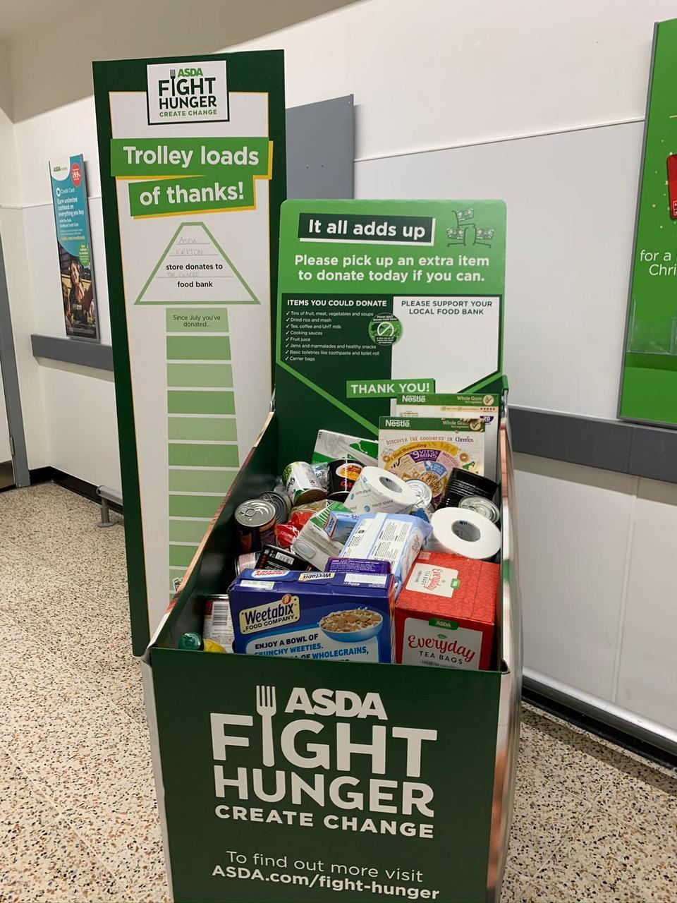 Help us Fight Hunger and Create Change in our Communities | Asda Dundee Kirkton