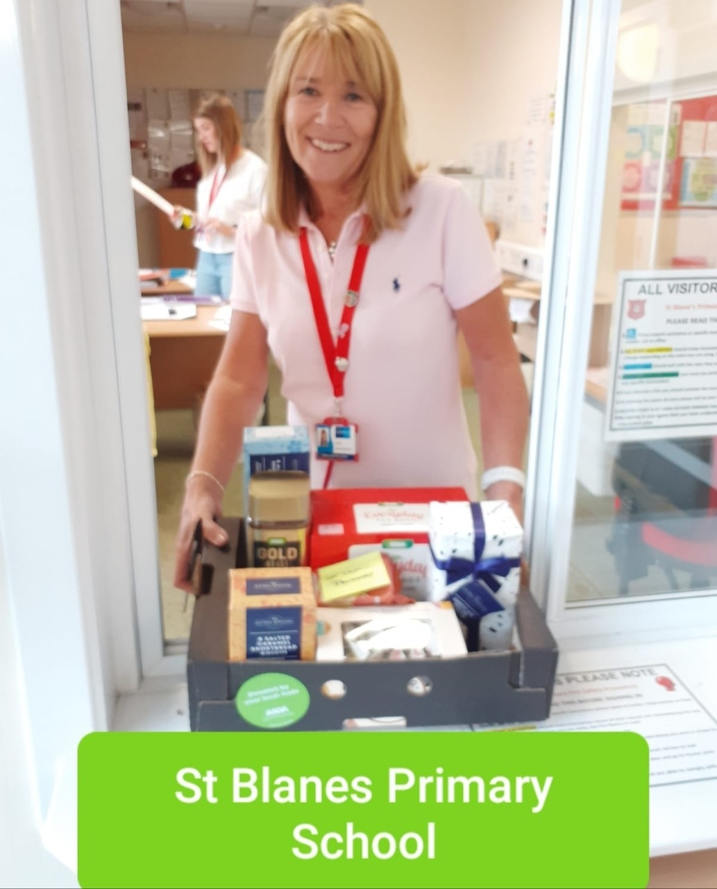 Back to School donations to office staff | Asda Blantyre