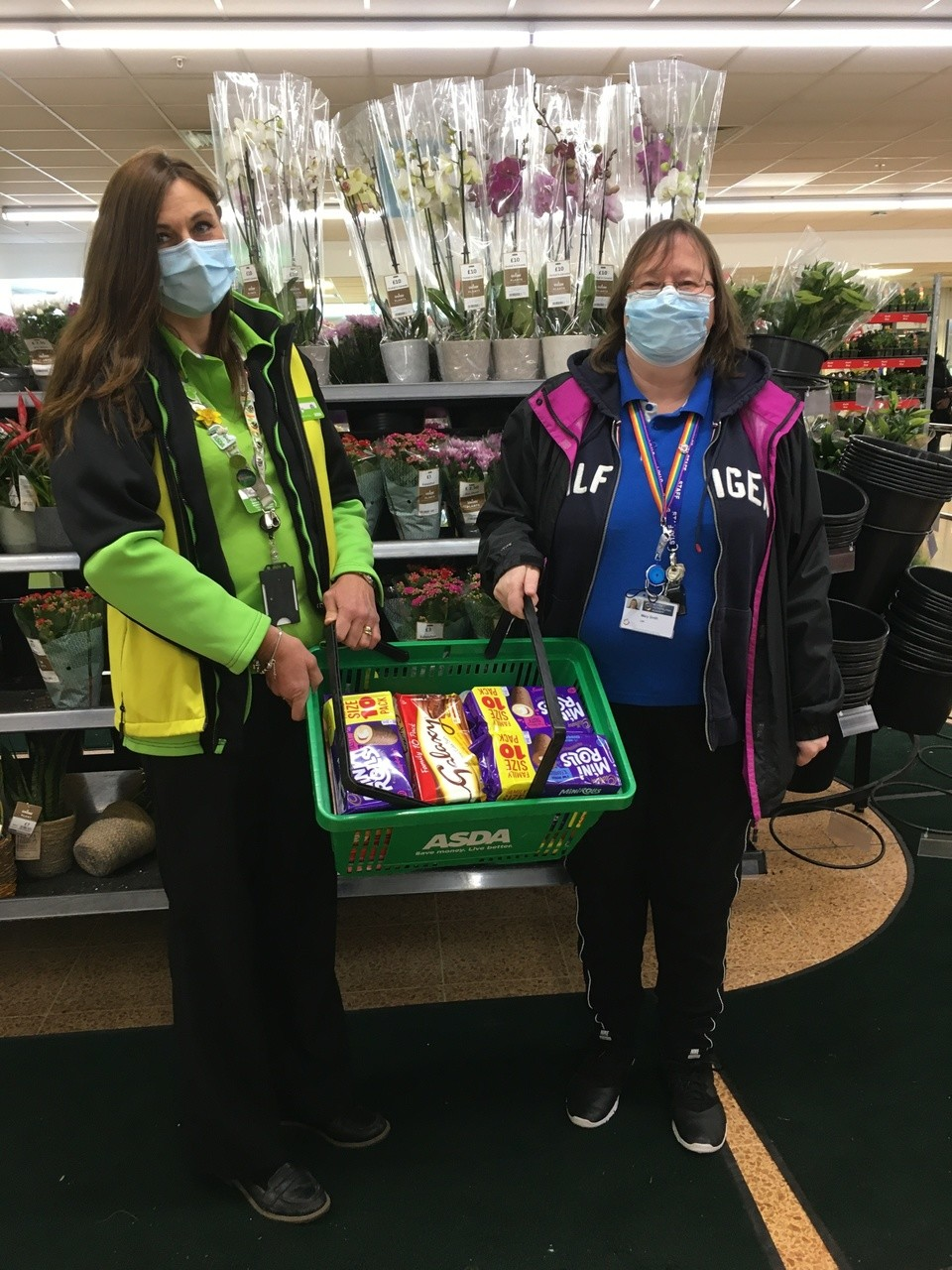 School cake donations | Asda Longwell Green