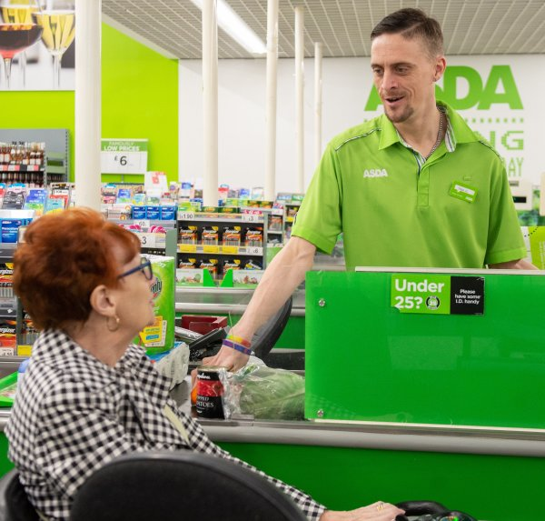 Asda Eastbourne colleague Tom Hines