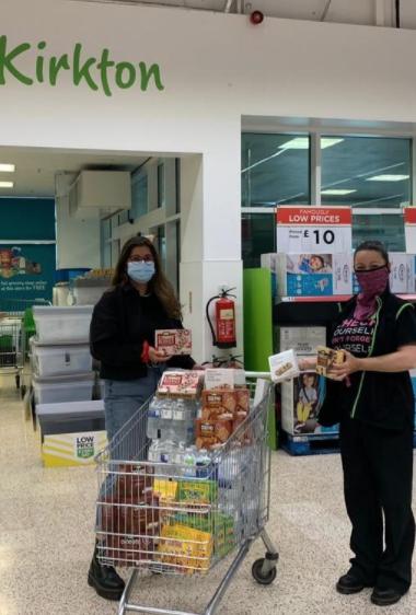Feeling Strong donation | Asda Dundee Kirkton